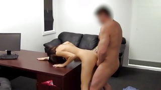 Kinky chick really loves being slammed from behind